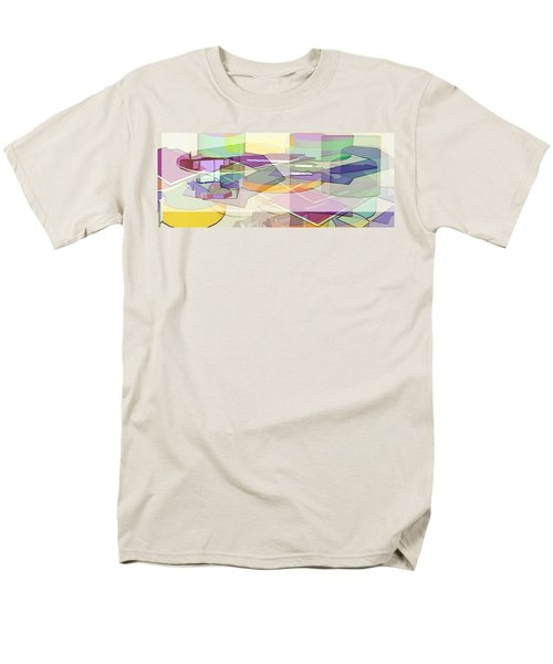 Men's T-Shirt  (Regular Fit) featuring the digital art Geo-art by Cathy Anderson