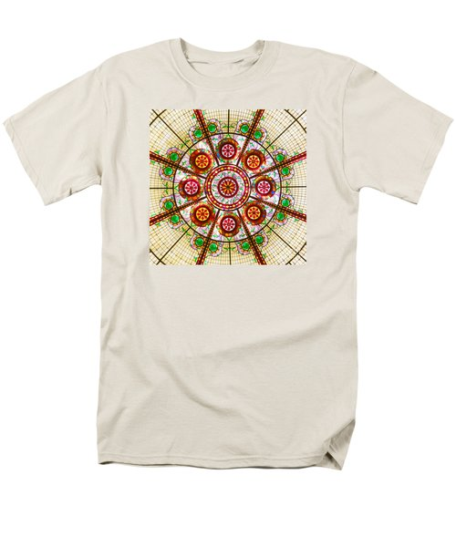 Glass Dome Men's T-Shirt  (Regular Fit) by Val Miller