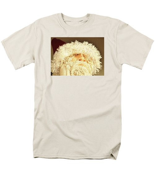 Men's T-Shirt  (Regular Fit) featuring the photograph Gnome Santa by Nadalyn Larsen