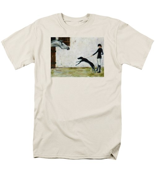 Good To See You Again Men's T-Shirt  (Regular Fit) by Xueling Zou