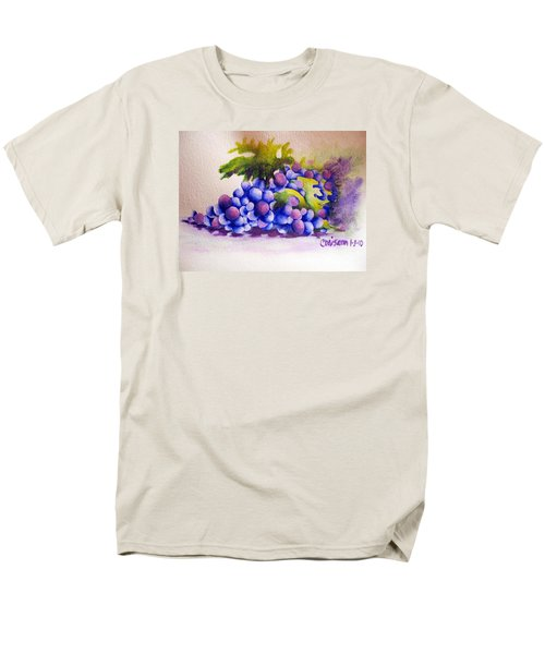 Men's T-Shirt  (Regular Fit) featuring the painting Grapes by Chrisann Ellis