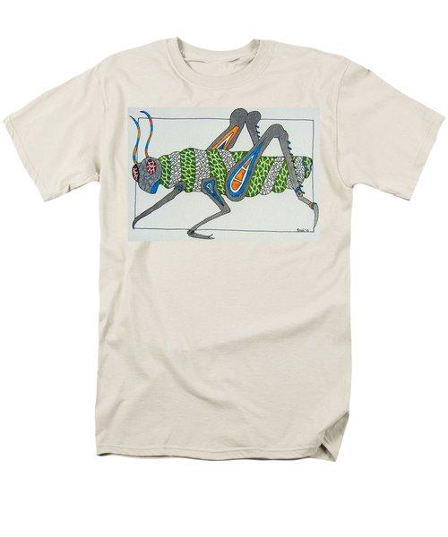 Grass Hopper I Men's T-Shirt  (Regular Fit) by Kruti Shah