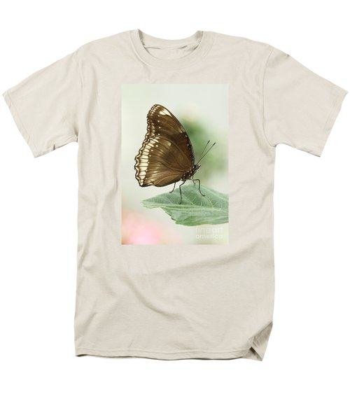 Great Eggfly Butterfly Men's T-Shirt  (Regular Fit) by Judy Whitton