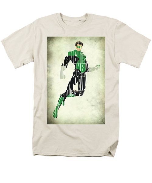 Green Lantern Men's T-Shirt  (Regular Fit) by Ayse Deniz
