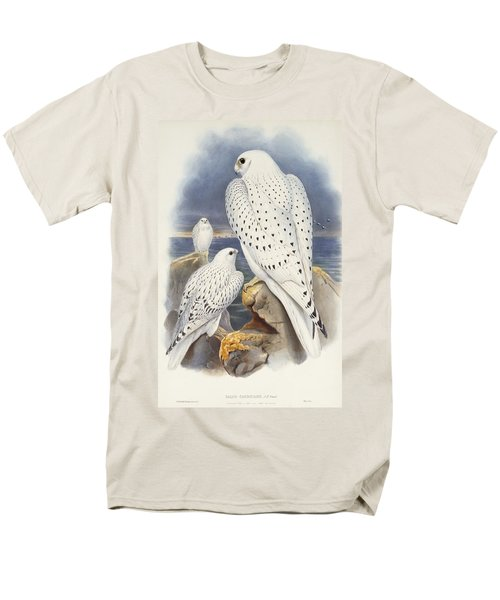 Greenland Falcon Men's T-Shirt  (Regular Fit) by John Gould