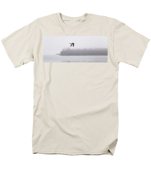 Gull In Flight Men's T-Shirt  (Regular Fit) by Marty Saccone