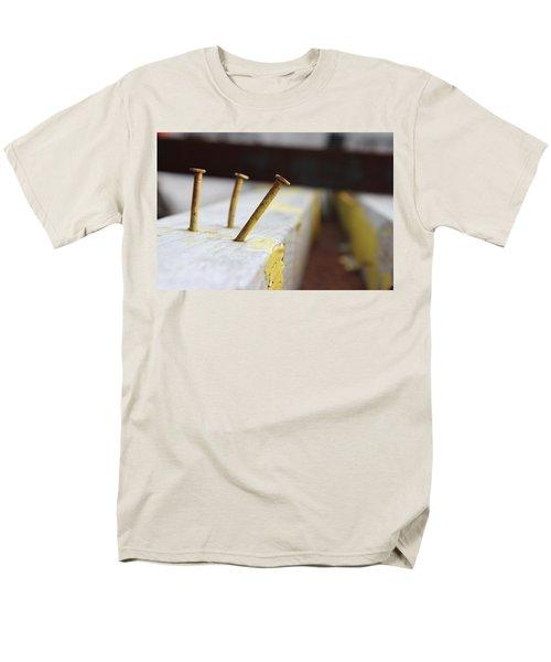 Hammer And Nail Men's T-Shirt  (Regular Fit) by Tiffany Erdman