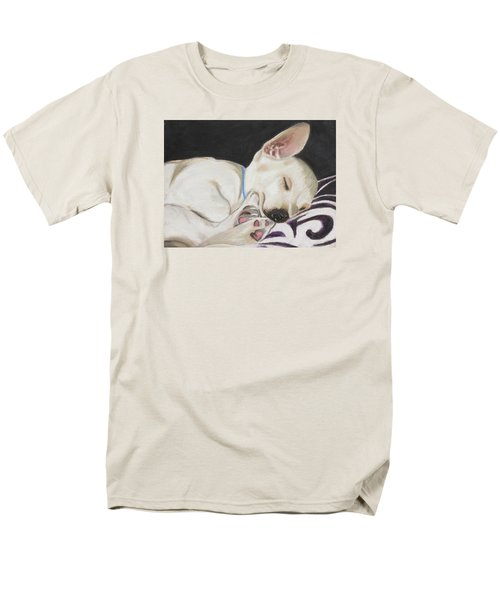 Men's T-Shirt  (Regular Fit) featuring the painting Hanks Sleeping by Jeanne Fischer