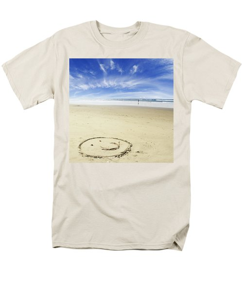 Happiness Men's T-Shirt  (Regular Fit) by Les Cunliffe