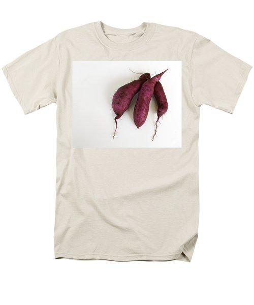 Hawaiian Purple Sweet Potatos Men's T-Shirt  (Regular Fit) by Denise Bird