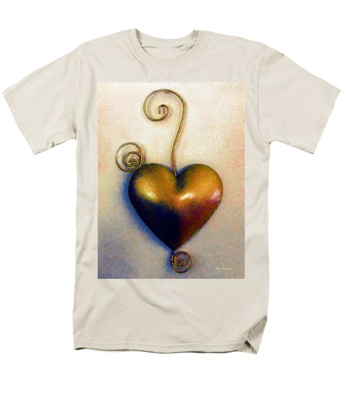 Heartswirls Men's T-Shirt  (Regular Fit) by RC deWinter