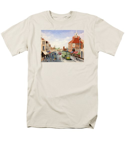 High Street Men's T-Shirt  (Regular Fit) by Helen Syron