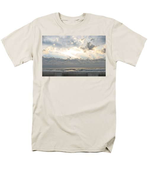 His Glory Shines Men's T-Shirt  (Regular Fit) by Judith Morris