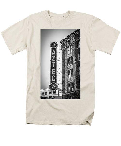 Historic Aztec Theater Men's T-Shirt  (Regular Fit) by Melinda Ledsome