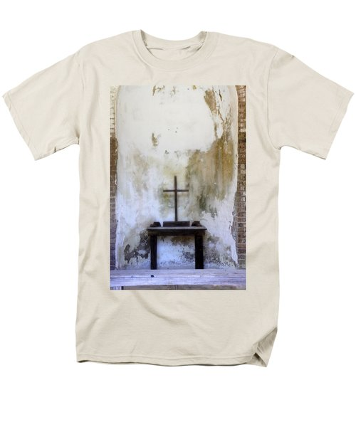 Historic Hope Men's T-Shirt  (Regular Fit) by Laurie Perry