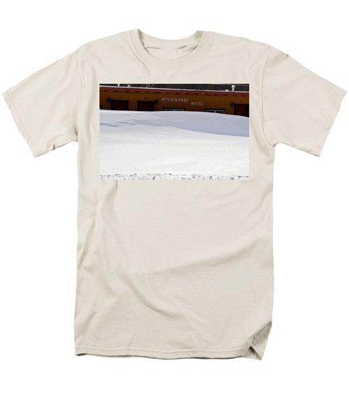 Hitchin' Post April Men's T-Shirt  (Regular Fit) by Jeremy Rhoades