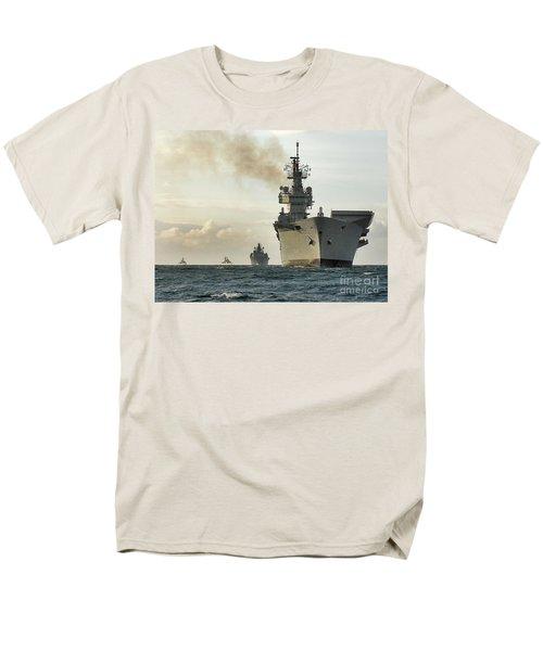 Hms Ark Royal  Men's T-Shirt  (Regular Fit) by Paul Fearn