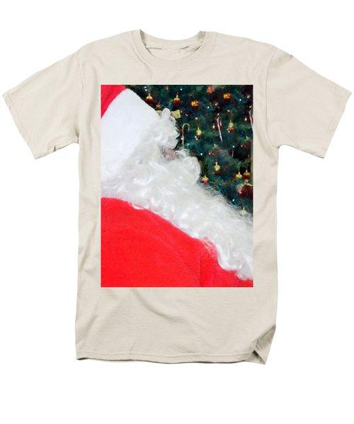Men's T-Shirt  (Regular Fit) featuring the photograph Santa Claus by Vizual Studio