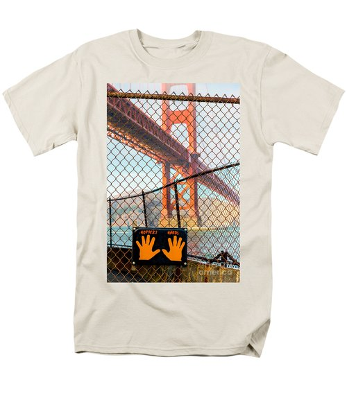 Hoppers Hands Men's T-Shirt  (Regular Fit) by Jerry Fornarotto