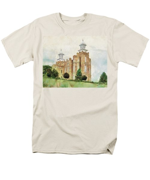 Men's T-Shirt  (Regular Fit) featuring the painting House Of Defense by Greg Collins