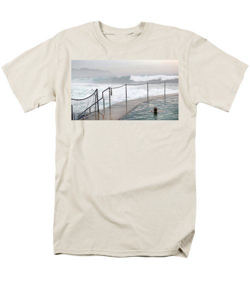 Men's T-Shirt  (Regular Fit) featuring the photograph In Safe Waters by Evelyn Tambour