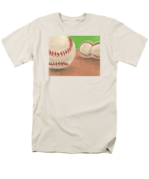 Men's T-Shirt  (Regular Fit) featuring the drawing In The Dirt by Troy Levesque