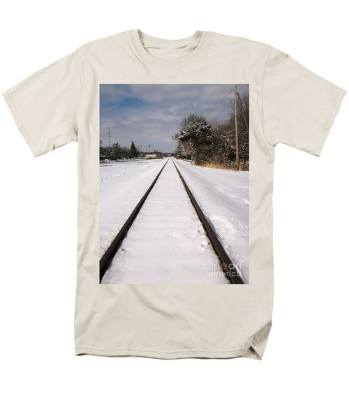 Men's T-Shirt  (Regular Fit) featuring the photograph In The Distance by Sara  Raber