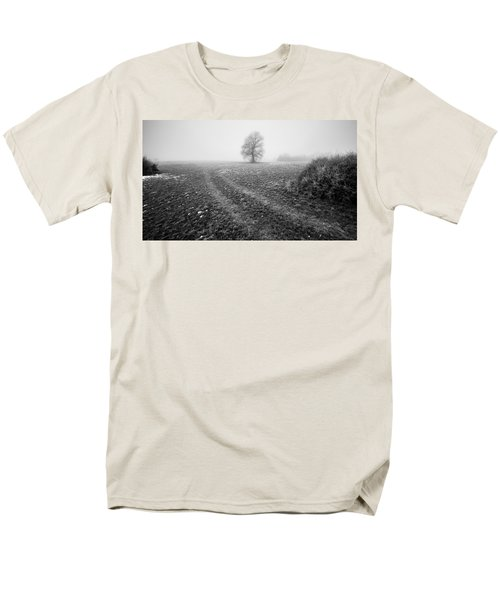 Men's T-Shirt  (Regular Fit) featuring the photograph In The Mist by Davorin Mance