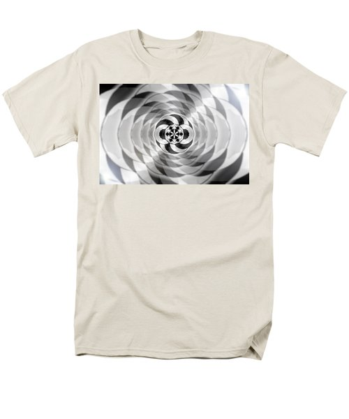 Men's T-Shirt  (Regular Fit) featuring the drawing Infinity Bonded by Derek Gedney