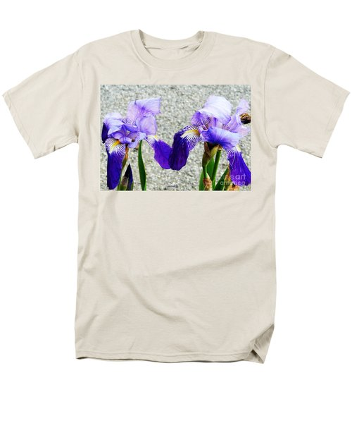 Irises Men's T-Shirt  (Regular Fit) by Jasna Dragun