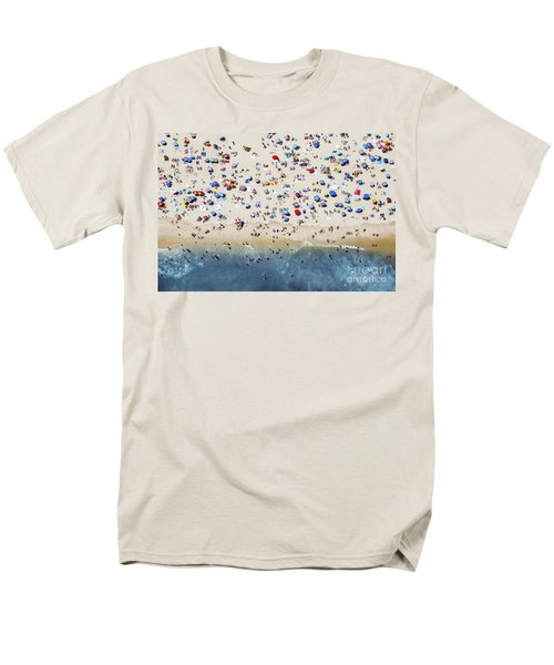 Island Beach State Park Men's T-Shirt  (Regular Fit) by Mike Raabe