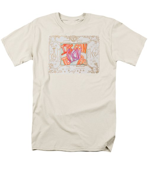 Men's T-Shirt  (Regular Fit) featuring the painting Its Going To Be Okay by Cassie Sears