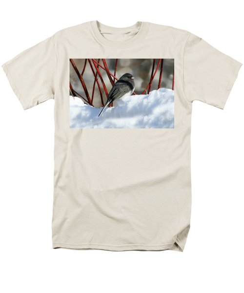 January Snow In New England Men's T-Shirt  (Regular Fit)
