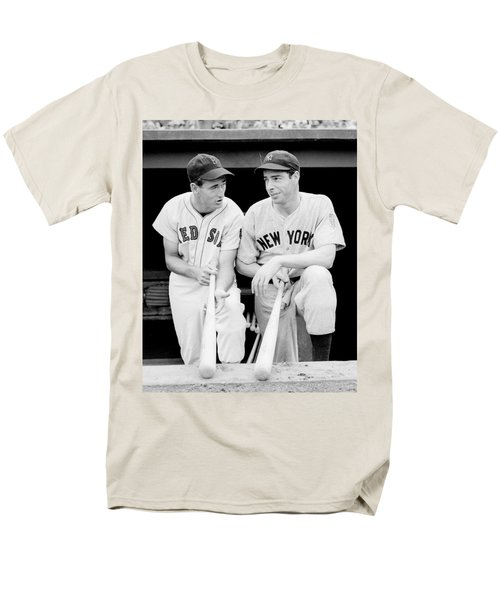 Joe Dimaggio And Ted Williams Men's T-Shirt  (Regular Fit) by Gianfranco Weiss