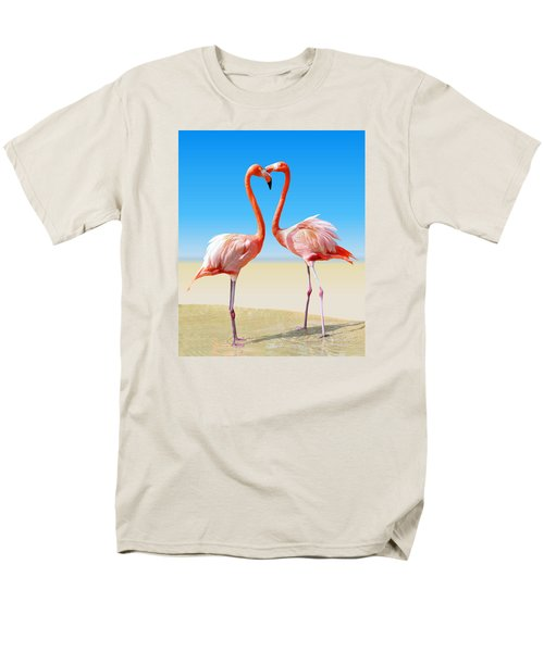 Just We Two Men's T-Shirt  (Regular Fit) by Kristin Elmquist