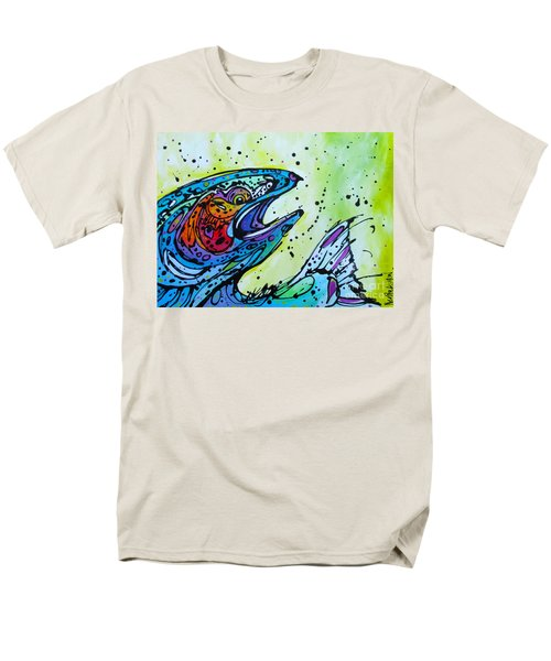 Men's T-Shirt  (Regular Fit) featuring the painting Karl by Nicole Gaitan
