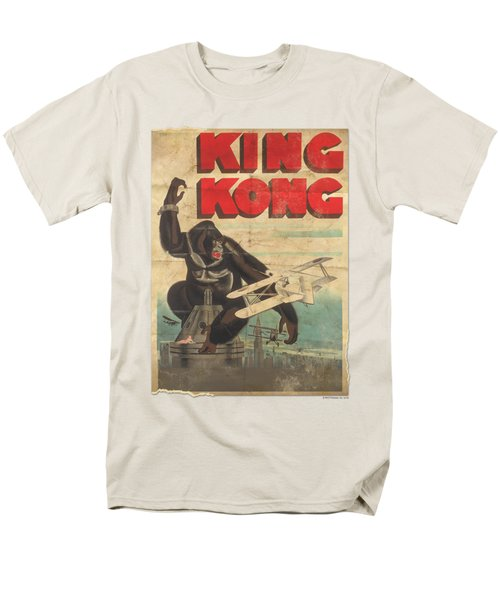 King Kong - Old Worn Poster Men's T-Shirt  (Regular Fit)