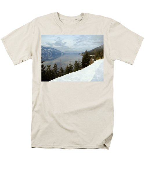 Kootenay Paradise Men's T-Shirt  (Regular Fit) by Leone Lund