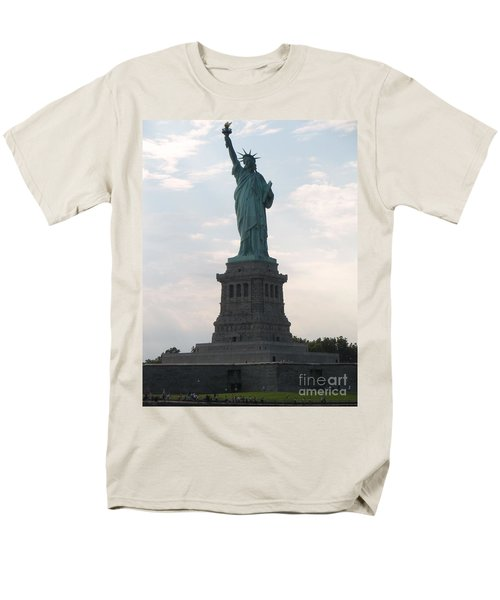 Men's T-Shirt  (Regular Fit) featuring the photograph Lady Liberty by Luther Fine Art