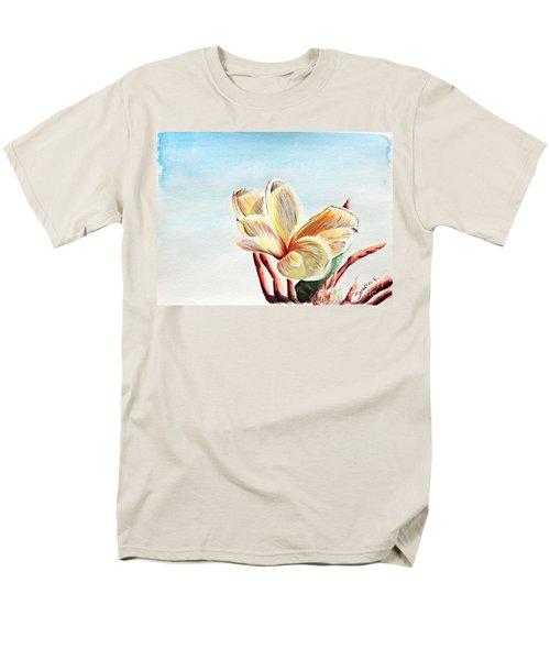 Laguna Flower Men's T-Shirt  (Regular Fit) by Katharina Filus