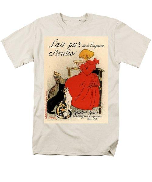 Lait Pur De La Vingeanne Sterilise Men's T-Shirt  (Regular Fit) by Gianfranco Weiss