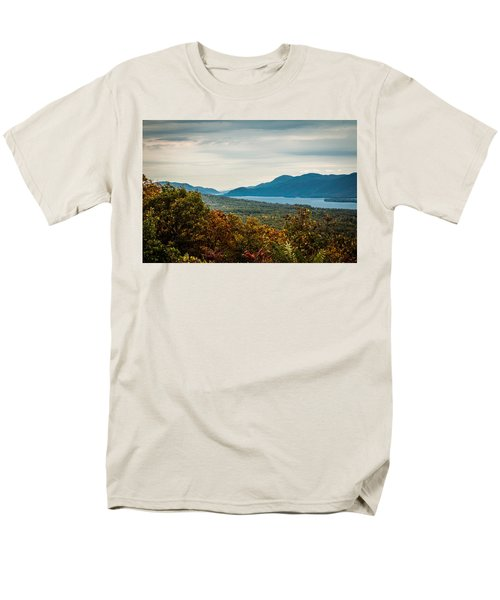 Lake George Men's T-Shirt  (Regular Fit)