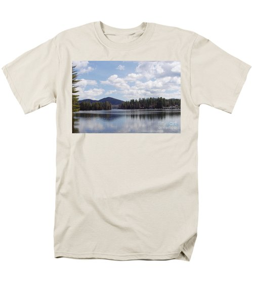 Lake Placid Men's T-Shirt  (Regular Fit) by John Telfer