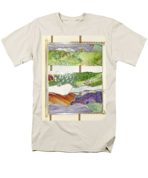 Landscape 2 Men's T-Shirt  (Regular Fit) by Karin Thue