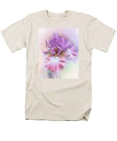 Men's T-Shirt  (Regular Fit) featuring the digital art Lavendar Dreams by Mary Almond