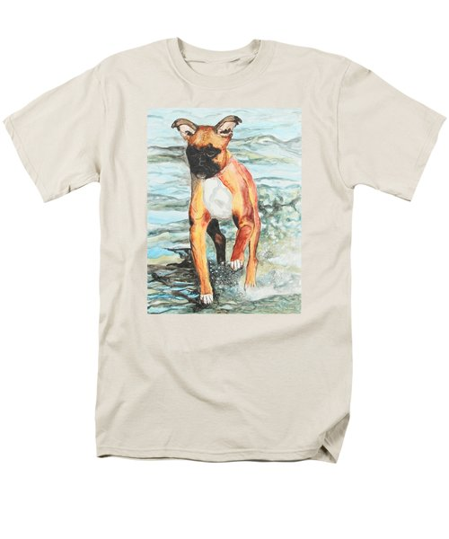 Men's T-Shirt  (Regular Fit) featuring the painting Leyla by Jeanne Fischer