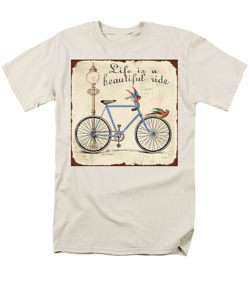 Life Is A Beautiful Ride Men's T-Shirt  (Regular Fit) by Jean Plout