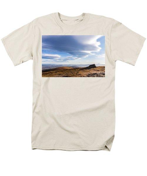 Lightfall On Djouce Mountain Summit Men's T-Shirt  (Regular Fit) by Semmick Photo