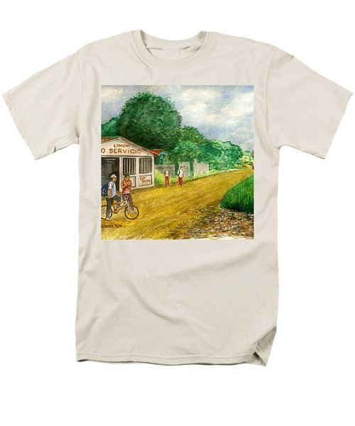 Limon Costa Rica Men's T-Shirt  (Regular Fit) by Frank Hunter