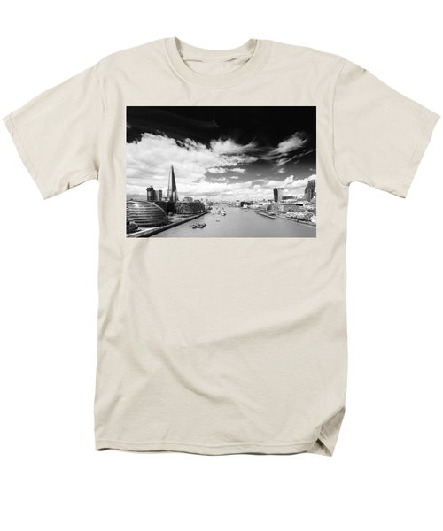Men's T-Shirt  (Regular Fit) featuring the photograph London Panorama by Chevy Fleet
